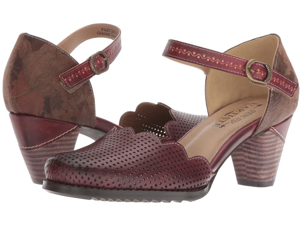 L'Artiste by Spring Step Parchelle (Bordeaux Multi) Women's Shoes