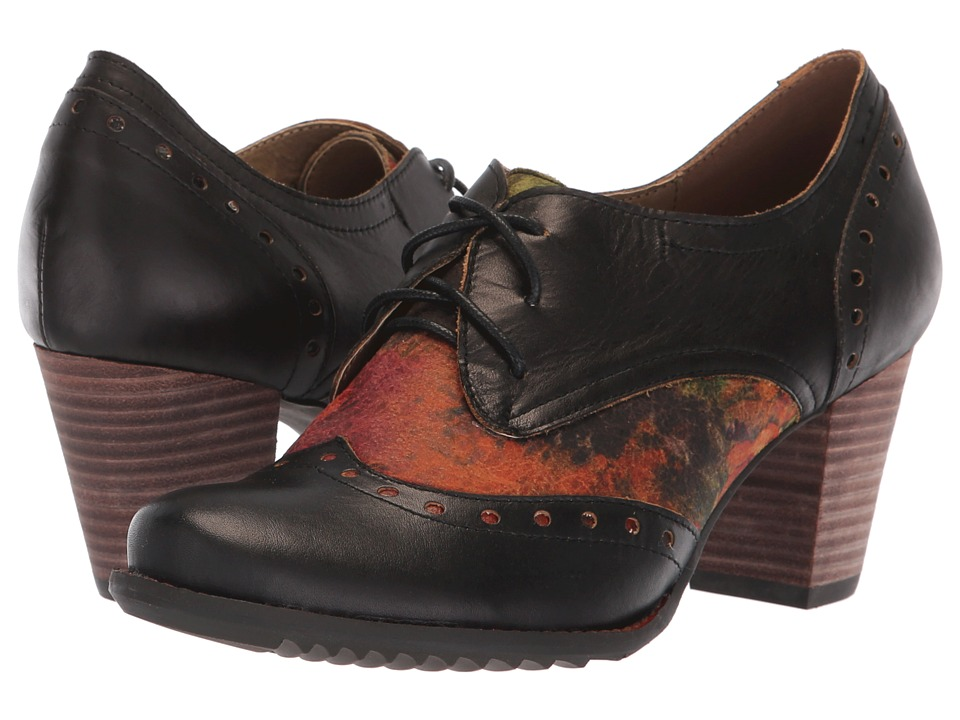 L'Artiste by Spring Step Marivel (Black) Women's Shoes