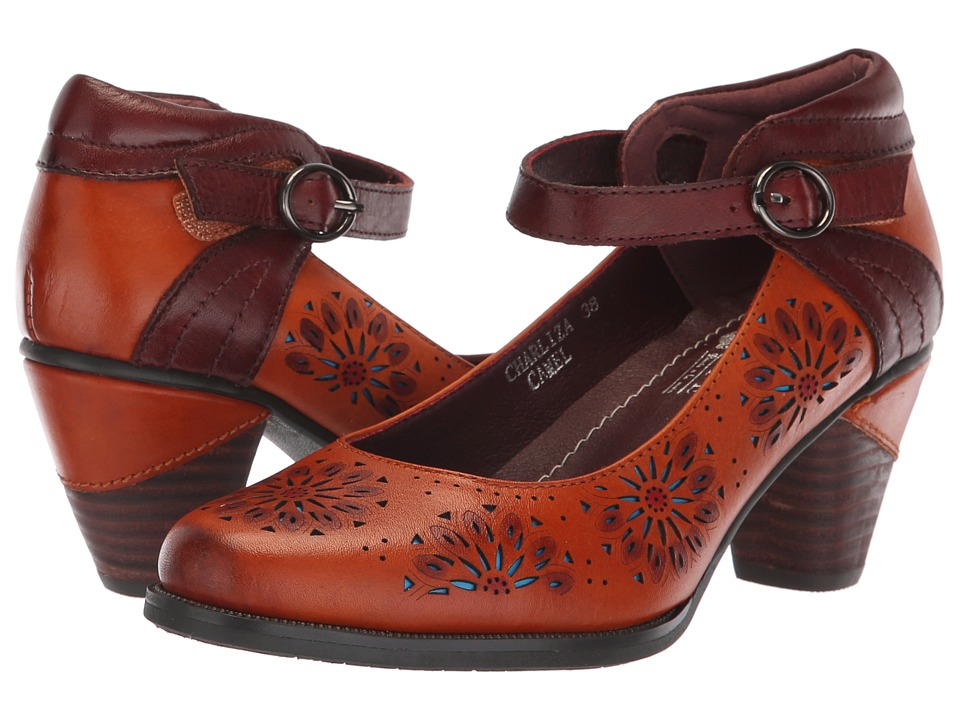 L'Artiste by Spring Step Charliza (Camel Multi) Women's Shoes