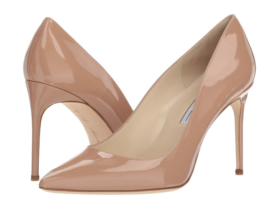 Brian Atwood - Valerie (Cappuccino Nude Patent) Womens Shoes