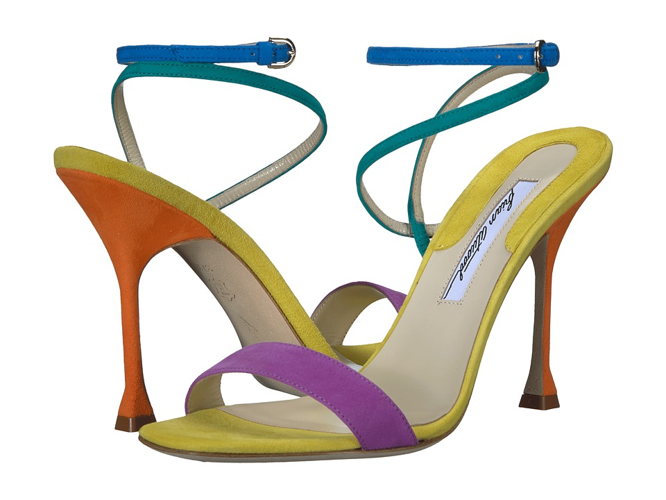 Brian Atwood - Sienna (Multicolor Kid Suede) Womens Shoes
