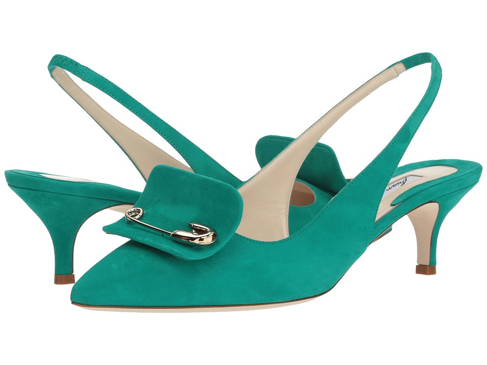 Brian Atwood - Giuliaa (Emerald Kid Suede) Womens Shoes