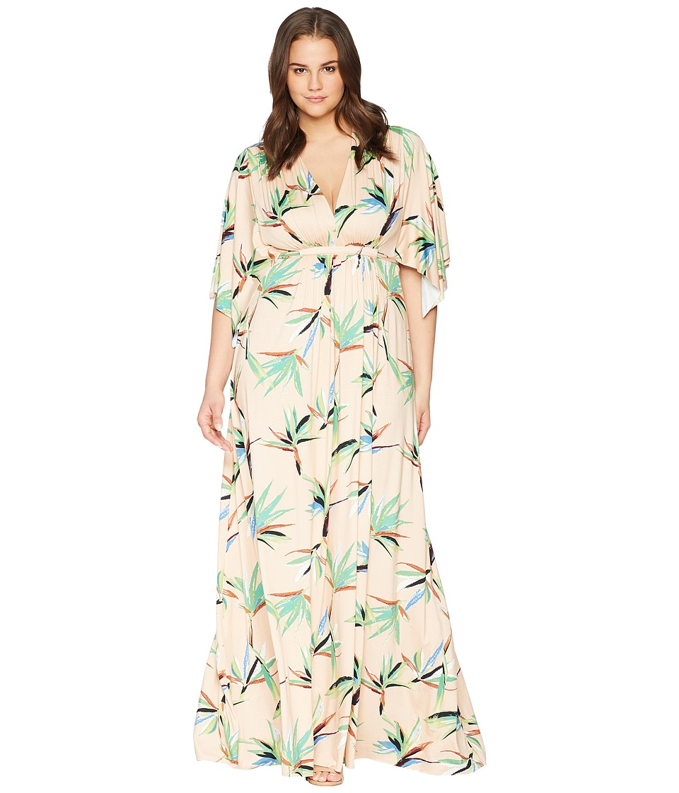 Rachel Pally - Plus Size Long Caftan Dress (Paradise) Womens Dress