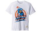 The Original Retro Brand Kids Vintage Cotton Captain America Tee (Big Kids)