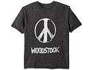 The Original Retro Brand Kids Mocktwist Woodstock Peace Short Sleeve Tee (Big Kids)