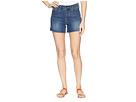NYDJ NYDJ 4 Shorts w/ Fray Hem Side Slit in Zimbali
