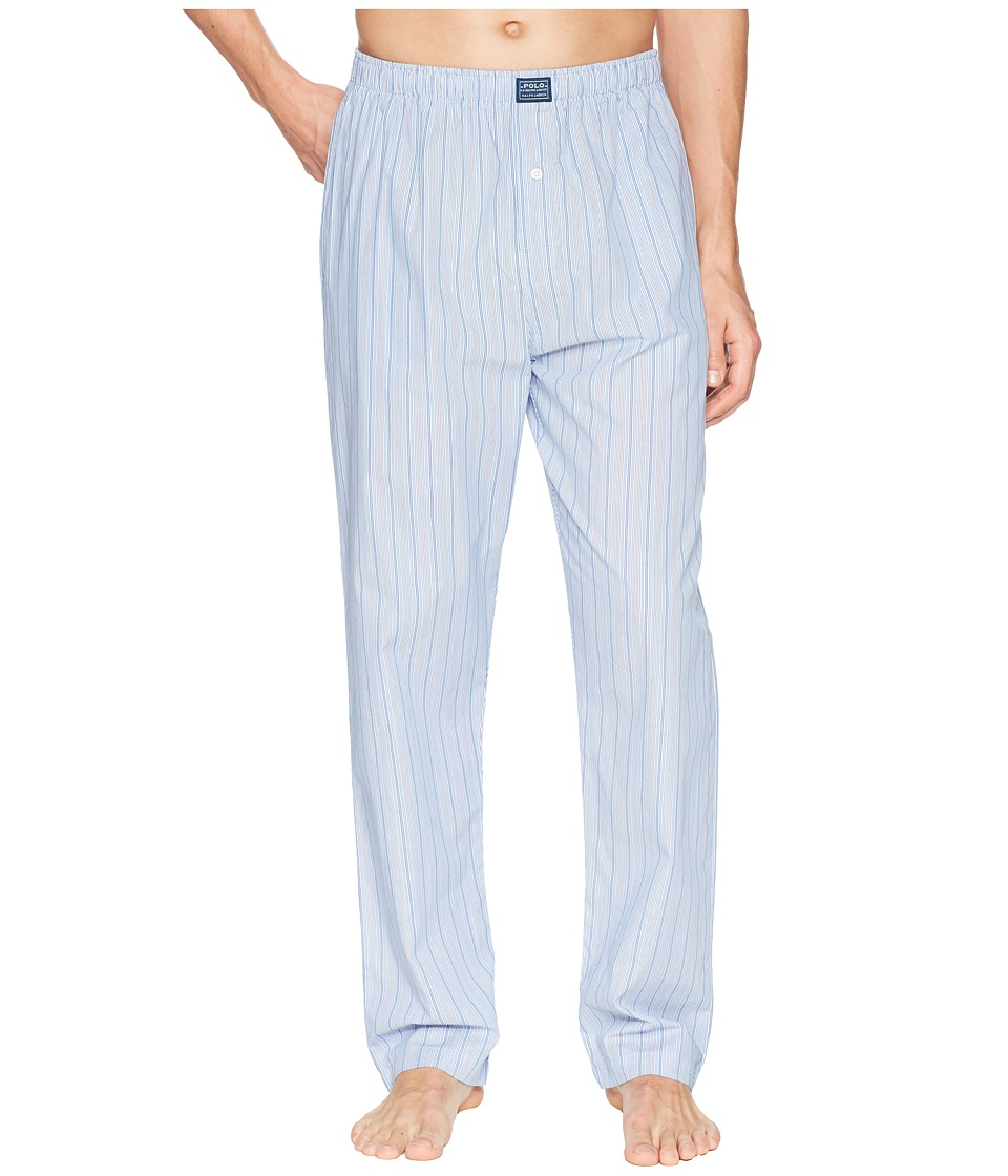 Ralph Lauren Woven Stripe PJ Pants (Andrew Stripe) Men's ...