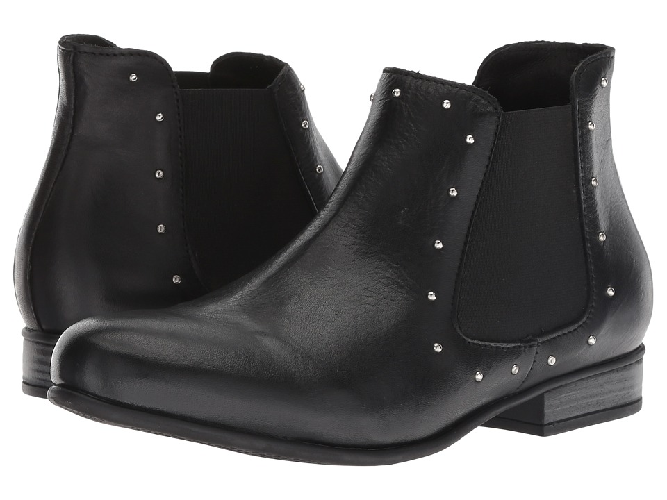 Eric Michael Jolie (Black Leather) Women's Shoes