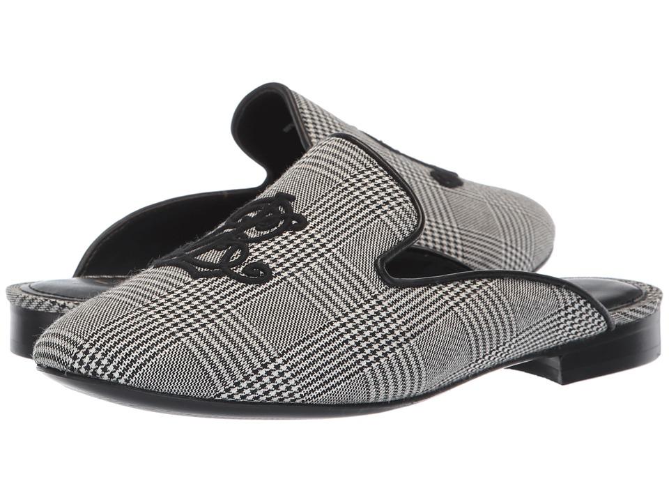 LAUREN Ralph Lauren Cadi II (Black/Cream Glen Plaid) Women's Shoes