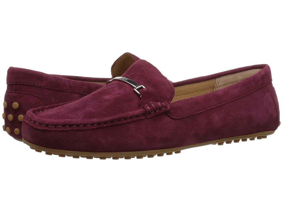 LAUREN Ralph Lauren Briony (Merlot Kid Suede) Women's Shoes
