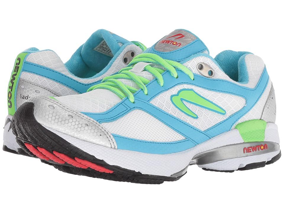Newton Running Isaac S (White/Aqua) Women's Running Shoes