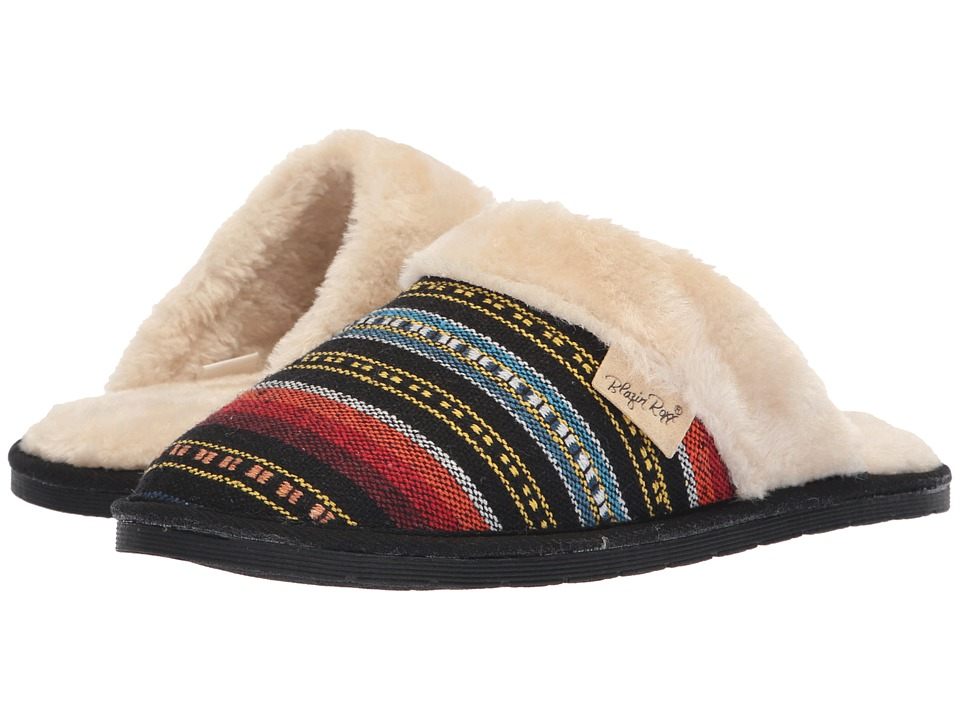 M&F Western Camila (Red/Blue/Black) Slippers