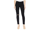 7 For All Mankind 7 For All Mankind B(Air) Ankle Skinny with Destroy in Black 3