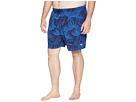 Tommy Bahama Big & Tall Big Tall Naples Midnight Floral Swim Short