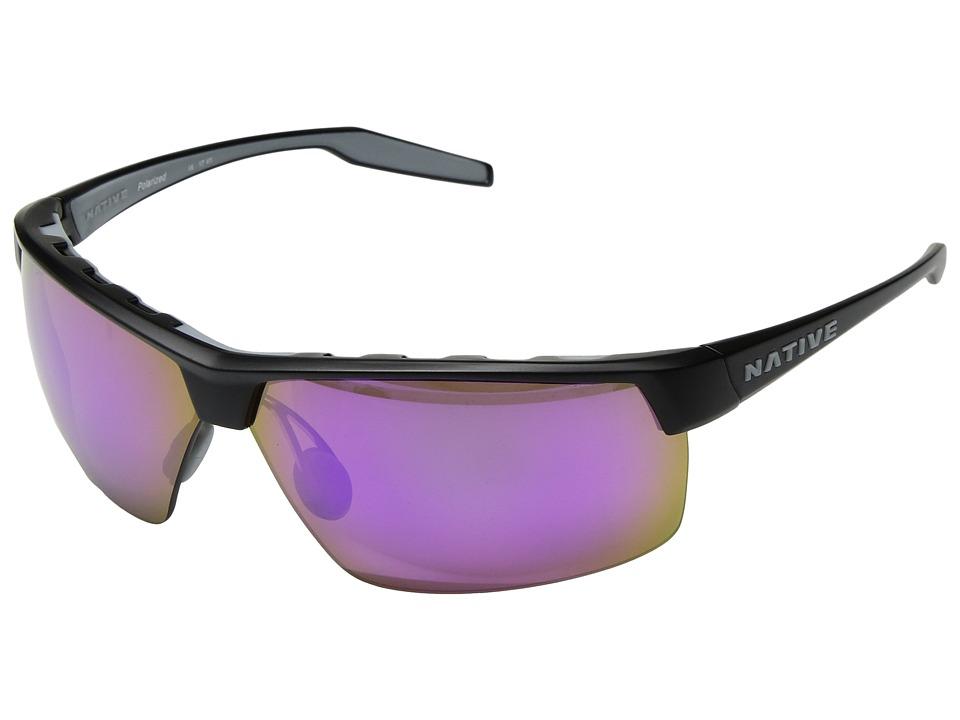Native Eyewear Hardtop Ultra XP (Matte Black/Violet Refle...