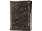 M&F Western M&F Western Floral Embossed Trifold Wallet