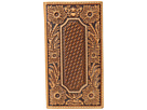 Ariat Floral and Basket Weave Embossed Rodeo Wallet