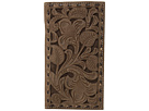 M&F Western Floral Pierced Embossed with Buckstitch Rodeo Wallet