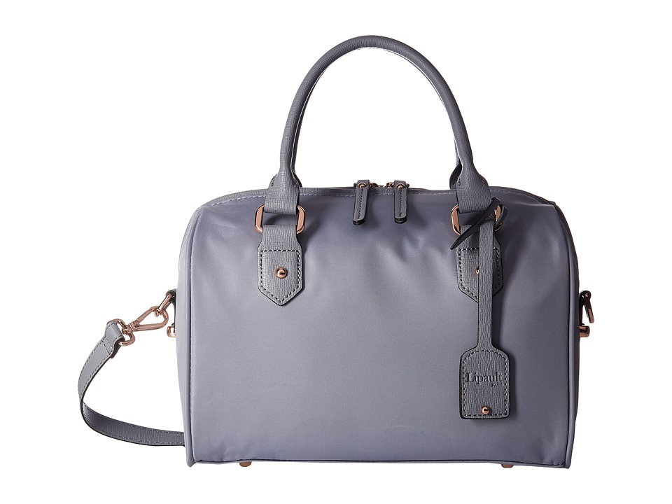 Lipault Paris - Plume Avenue Bowling Small Bag (Mineral Grey) Bags