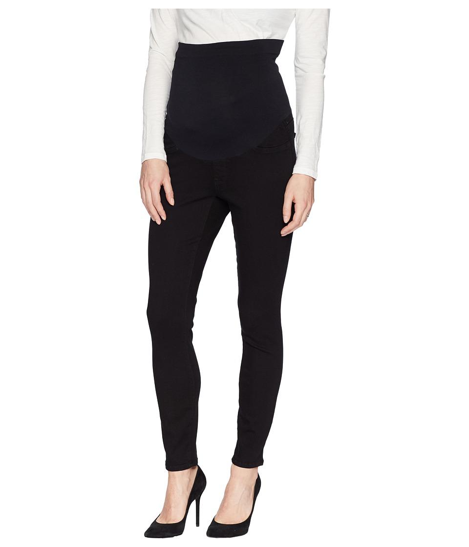 NYDJ - Skinny Maternity Ankle in Black (Black) Womens Jeans