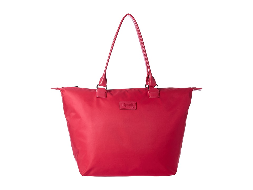 Lipault Paris - Lady Plume Medium Tote Bag (Tahiti Pink) Tote Handbags