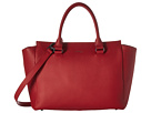 Lipault Paris Lipault Paris Plume Elegance Leather Medium Satchel Bag