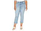 NYDJ Plus Size Plus Size Marilyn Straight Ankle Seastar Embroidery in Point Dume