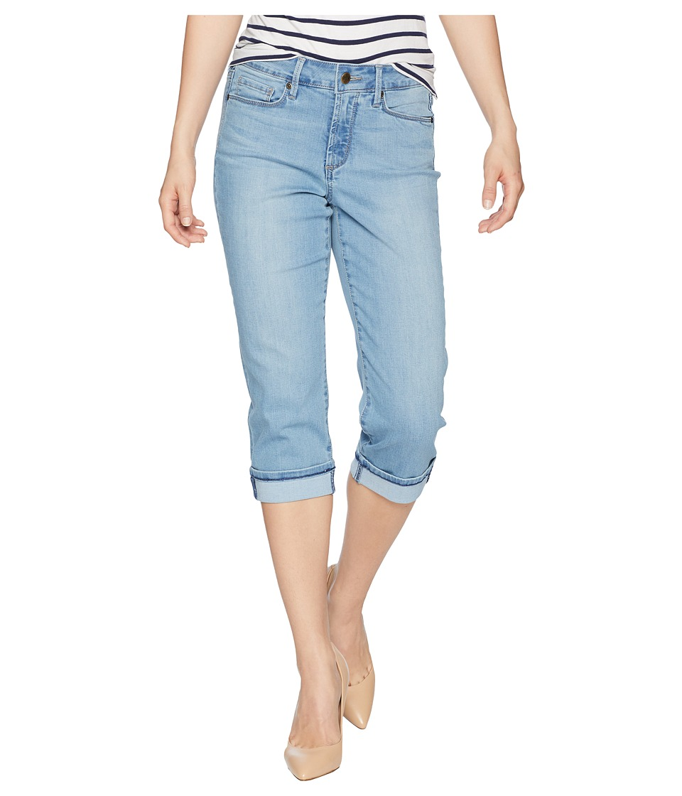 NYDJ Petite - Petite Marilyn Crop Cuff in Pampelonne (Pampelonne) Womens Jeans