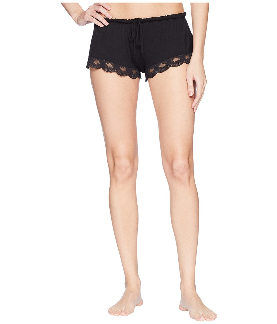 Eberjey - India Shortie (Black) Womens Pajama