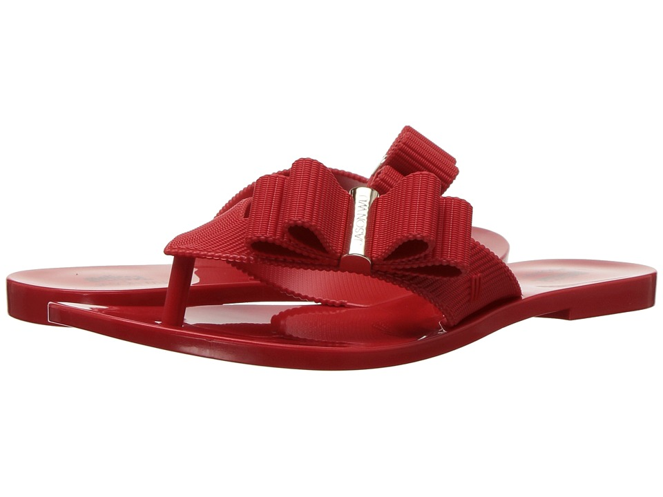+ Melissa Luxury Shoes - Jason Wu + Chrome Sandal (Red) Womens Shoes