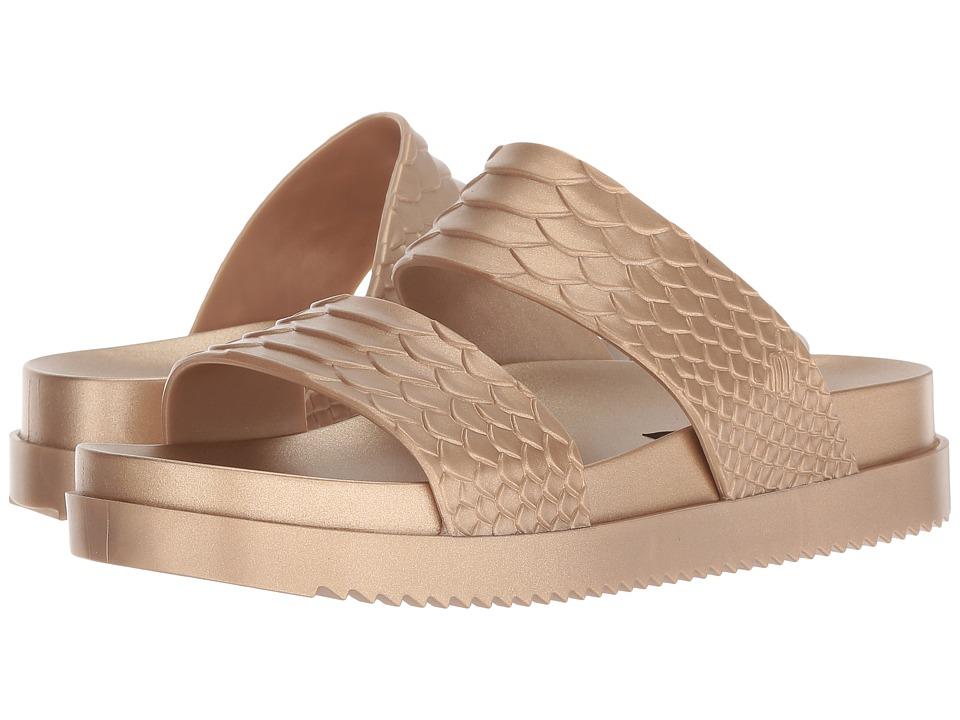 + Melissa Luxury Shoes Baja East + Cosmic Python (Gold) Women's Shoes