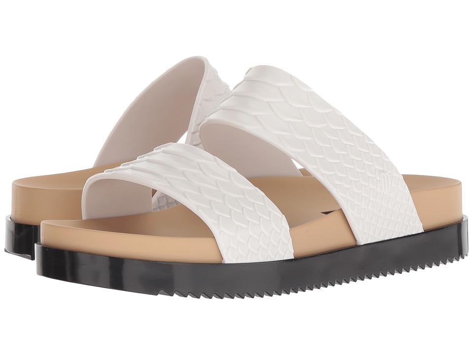 + Melissa Luxury Shoes Baja East + Cosmic Python (White/Beige/Black) Women's Shoes