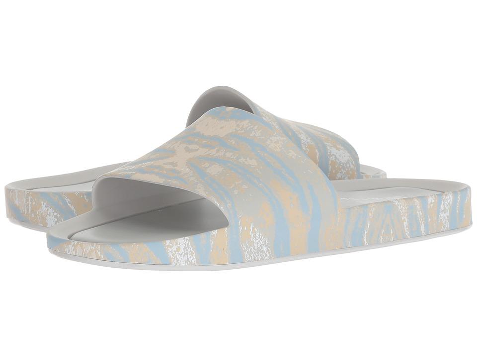 + Melissa Luxury Shoes Baja East + Beach Slide (Gray Printed) Women's Shoes