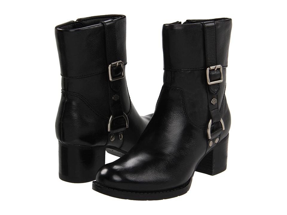 Harley-Davidson - Sadie (Black) Women's Zip Boots