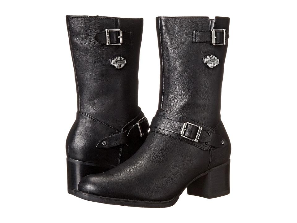 Harley-Davidson Serita (Black) Women's Zip Boots