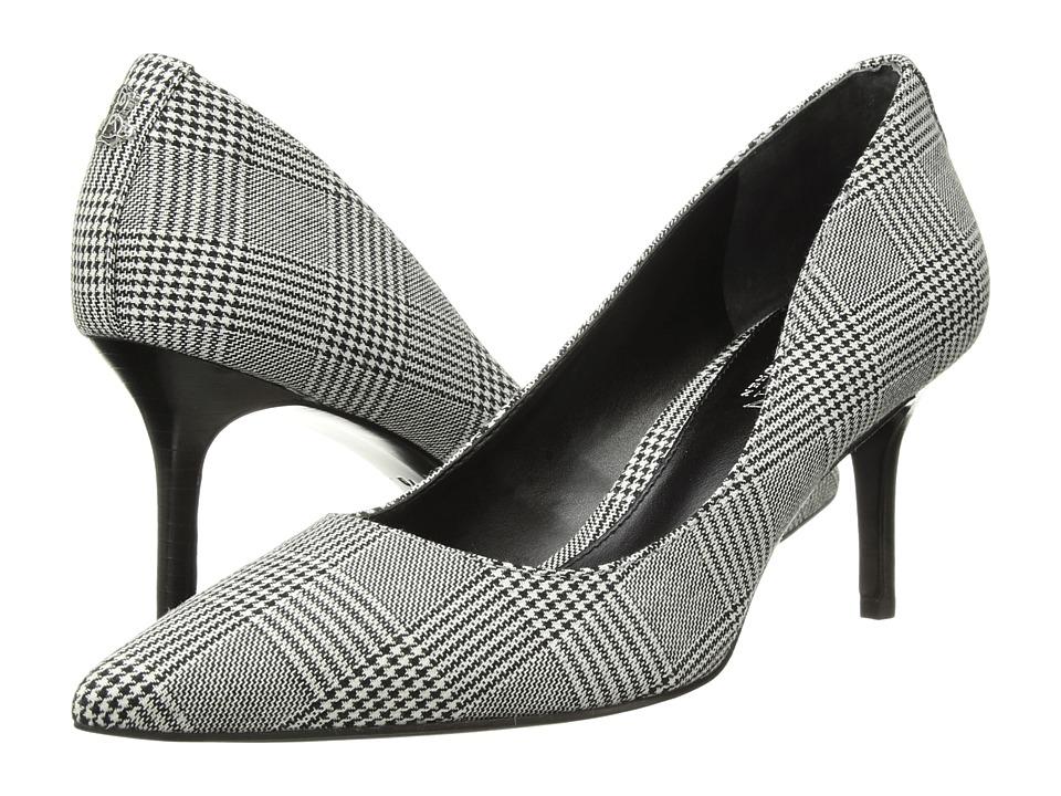 LAUREN Ralph Lauren Lanette II (Black/White Glen Plaid) Women's Shoes
