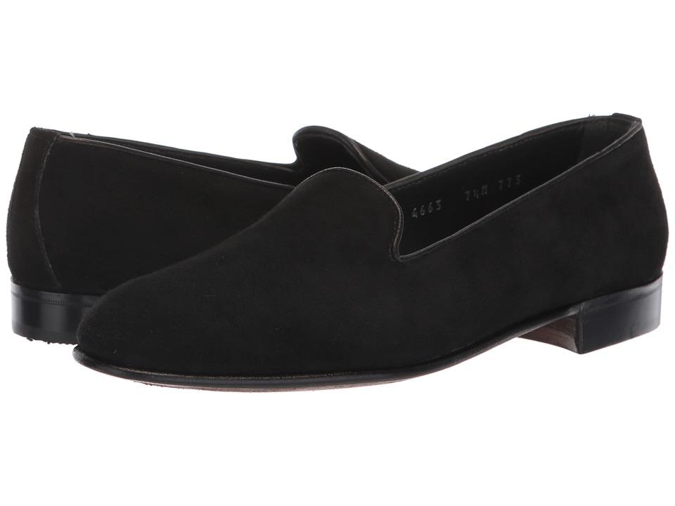 Gravati Venetian Loafer (Black Suede) Slip-On Shoes