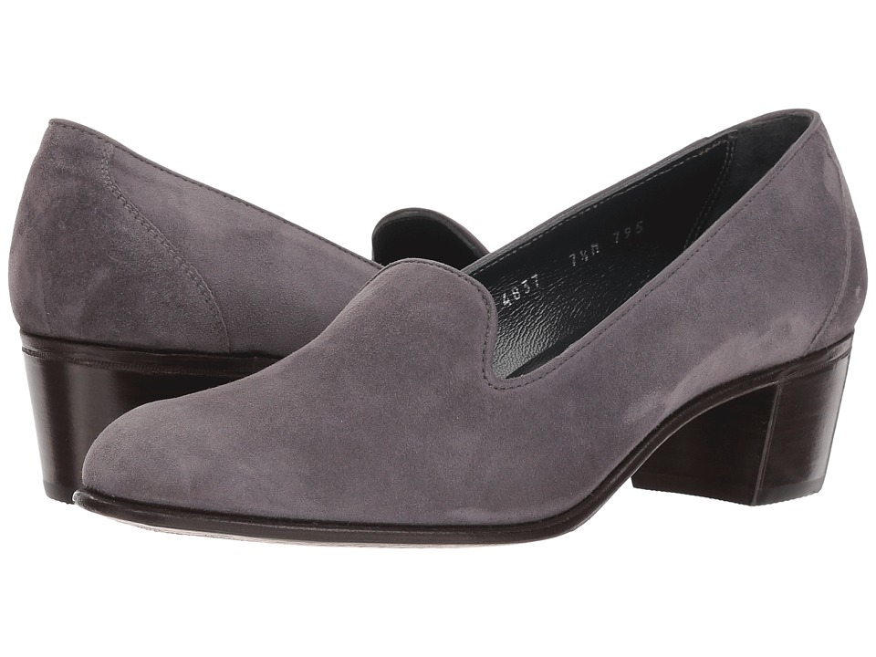 Gravati Suede Venetian Pump (Grey) Women's Shoes