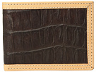 Ariat Croc Print Bifold Wallet