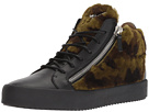 Giuseppe Zanotti May London Patterned Shearling Sneaker