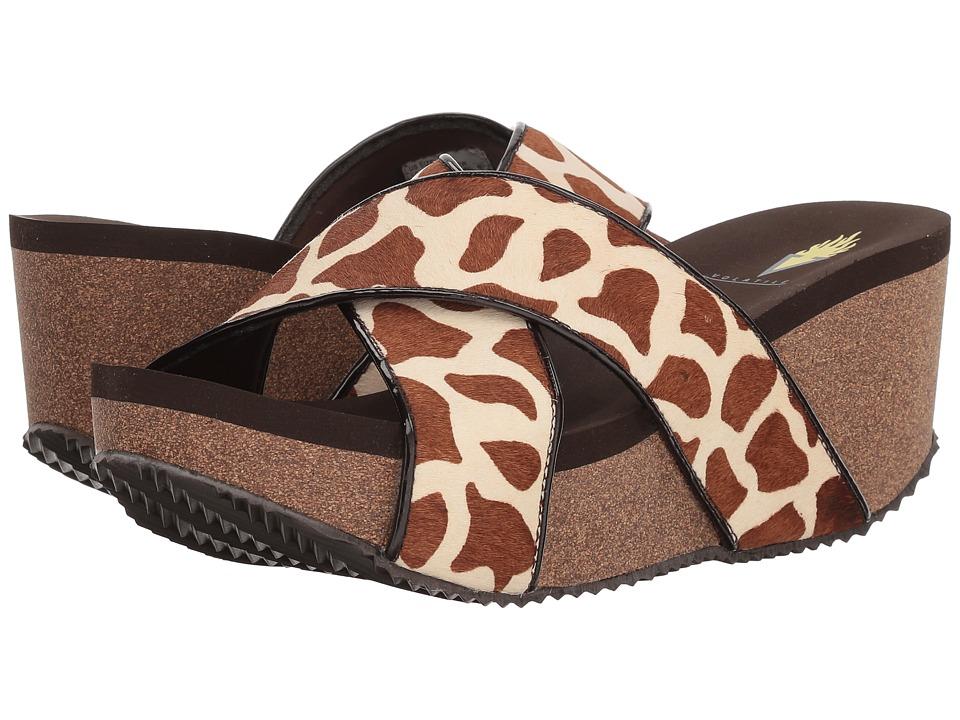 VOLATILE Finola (Brown Giraffe) Women
