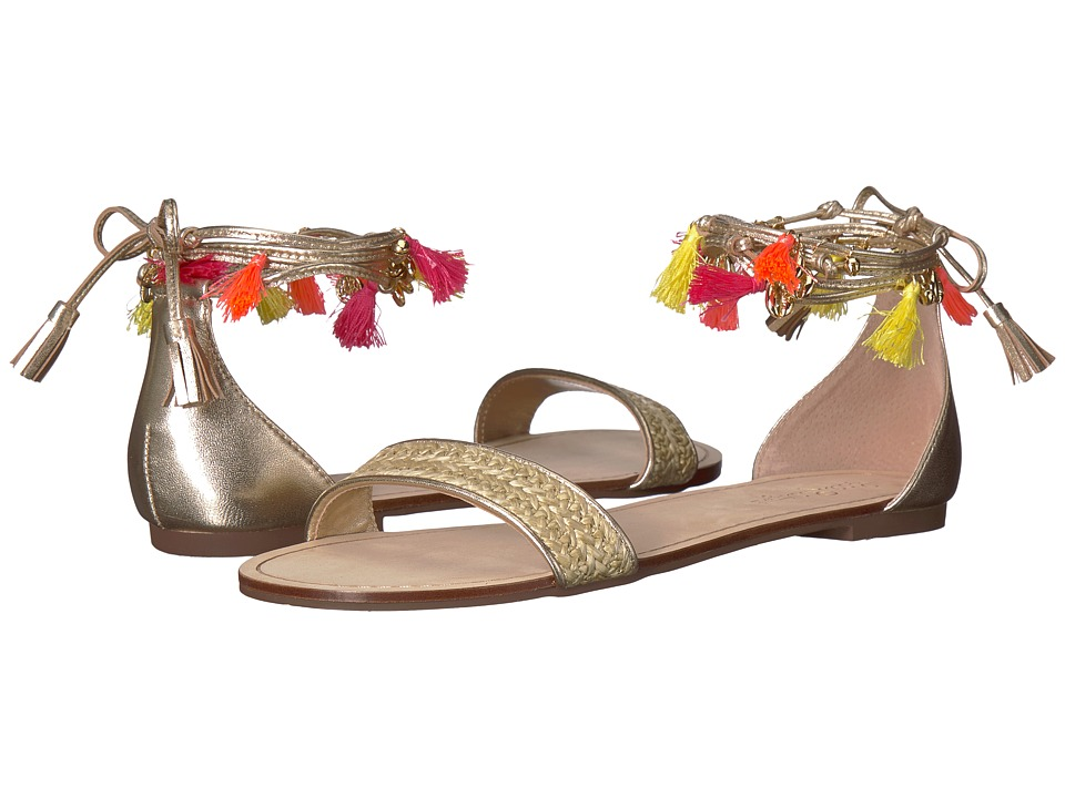 Lilly Pulitzer Willa Sandal (Gold Metallic) Women's Dress Sandals