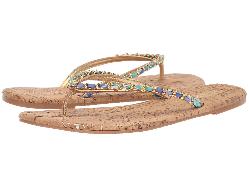 Lilly Pulitzer Naples Sandal (Natural) Women's Dress Sandals