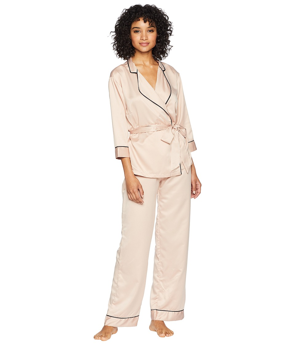 BLUEBELLA - Wren Kimono and Trousers Set (Rose Dust) Womens Pajama Sets