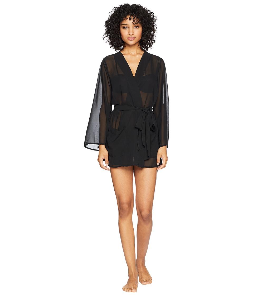 BLUEBELLA - Paige Kimono (Black) Womens Pajama