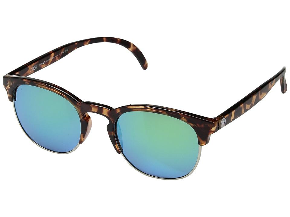 Sunski - Avilas (Tortoise Emerald) Sport Sunglasses