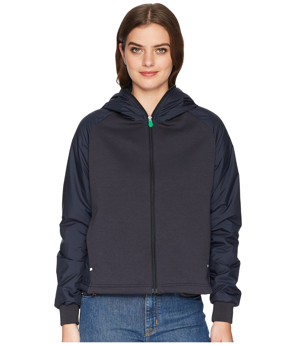 Save the Duck Recycled Hooded Jacket (Blue/Black) Women