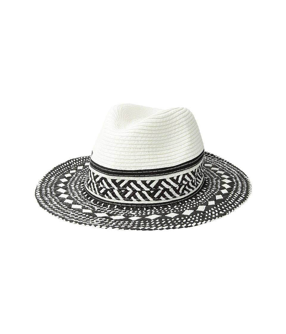 Steve Madden - Perfect Day Panama (White) Traditional Hats