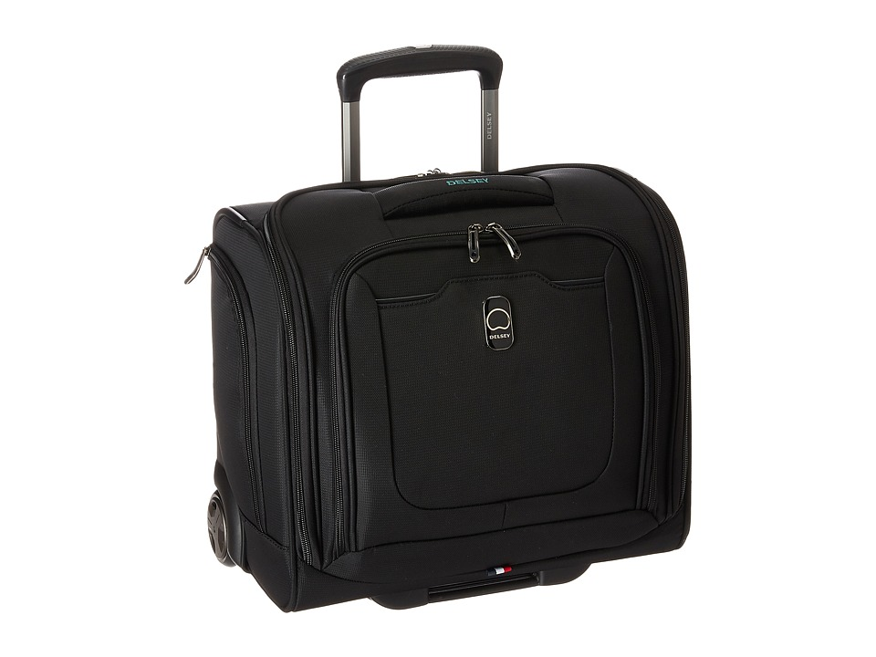Delsey - Hyperglide 2-Wheel Under-Seater (Black) Luggage