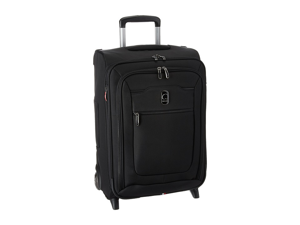 Delsey - Hyperglide Expandable 2-Wheel Carry-On (Black) Carry on Luggage